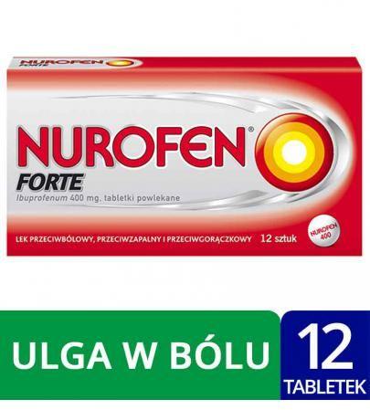 Nurofen Forte 400mg 12 tabletek powlekanych