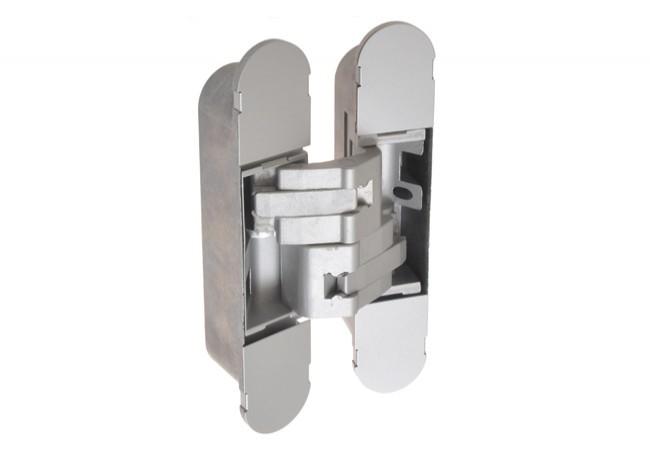 Zawias niewidoczny CEAM 1131, z regulacją 3D, srebrny (udźwig 2 sztuki-80kg, 3 sztuki - 120kg)