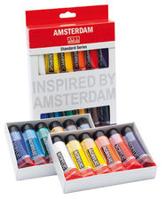 Talens Amsterdam Standard Farby akrylowe 12x20ml