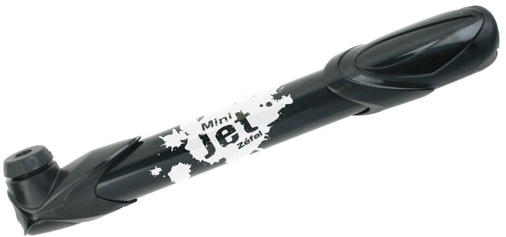 ZEFAL mini pompka rowerowa. uniwersalna MINI JET 033300 - czarna,3420588288190