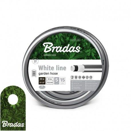 """Wąż ogrodowy 5/8"""" 20m WHITE LINE WWL5/820 5 warstw BRADAS 5663"""