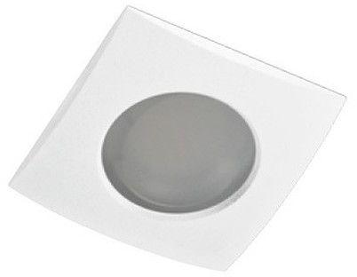 Oprawa wpustowa Ezio AZ0813 AZzardo kwadratowa oprawa w kolorze białym