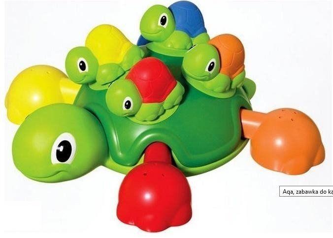 Żółwiowa rodzinka do wanny TOMY