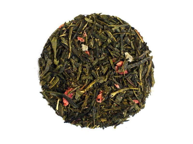 Herbata Sencha ananas-truskawka 50g - herbata zielona