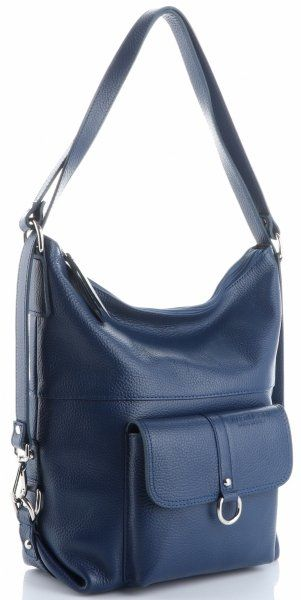Uniwersalne Torebki Skórzane plecaczki VITTORIA GOTTI Niebieskie (kolory)
