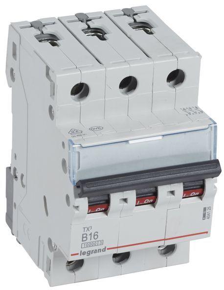 Wyłącznik nadprądowy 3P B 16A 10kA AC S313 TX3 404126