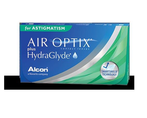Soczewki Air Optix Plus HydraGlyde for Astigmatism 6szt.