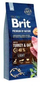 Brit Premium By Nature Light Turkey & Oat Indyk Owies 15 kg