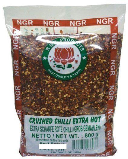 Chili kruszone w płatkach 800g - NGR