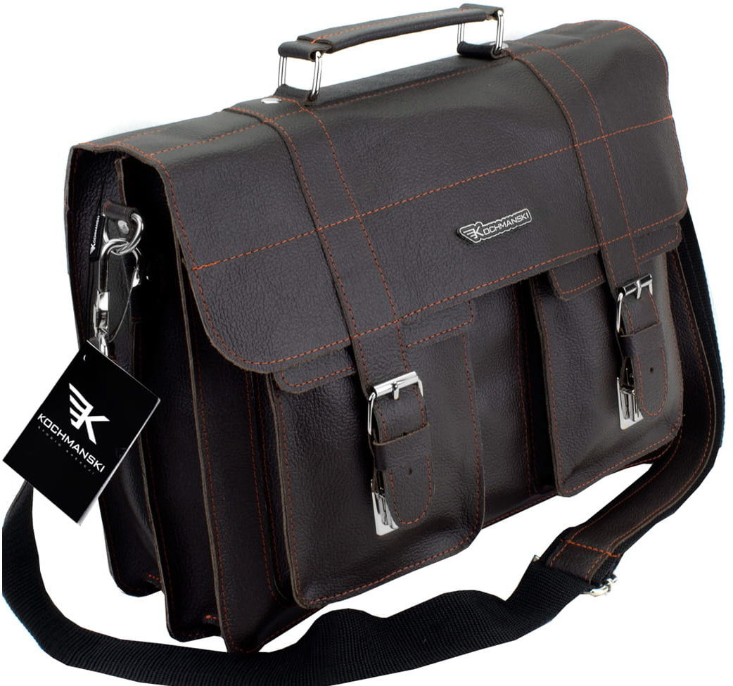 KOCHMANSKI torba teczka skórzana męska na ramie 2112