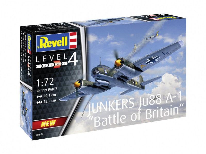 Model plastikowy Junkers Ju88 A-1 Battle of Britain