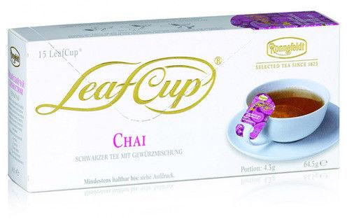 Czarna herbata Ronnefeldt Leaf Cup Masala Chai 15x4,3g