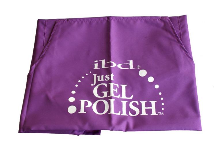 IBD Fartuszek kosmetyczny Just Gel Polish jasnofioletowy