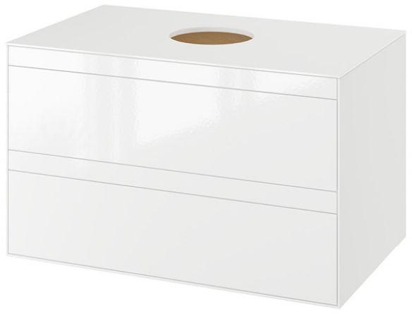 Excellent Finli szafka podumywalkowa wisząca biała 60x50x45 MLEX.1102.800.WHWH