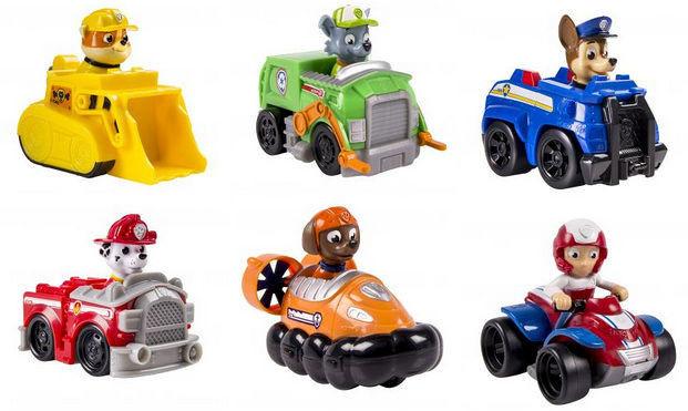 Psi Patrol Mini pojazdy mix wzorów Spin Master