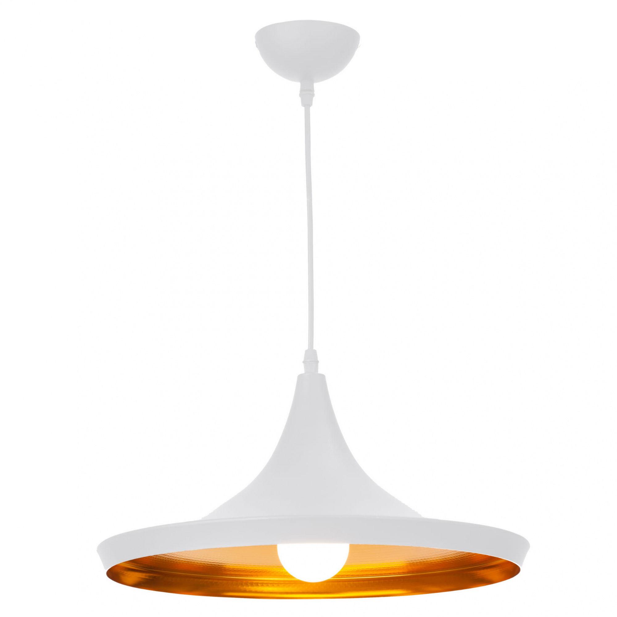Lampa wisząca Sona LP-42012/1P Light Prestige biało-złota oprawa w stylu nowoczesnym