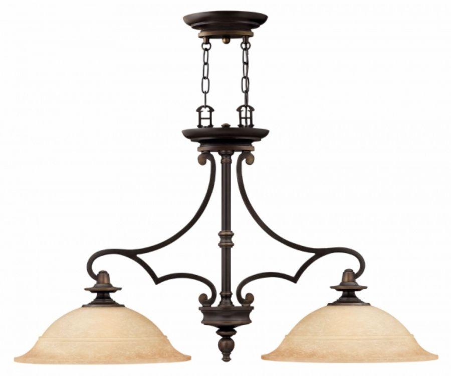 Lampa wisząca Plymouth HK/PLYMOUTH/ISLE Hinkley podwójna oprawa w klasycznym stylu