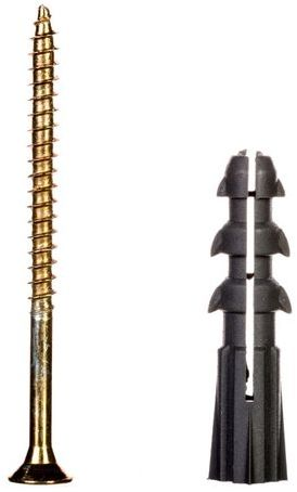 Kołek rozporowy z wkrętem KR fi8 4x60 22.009 /200 szt./