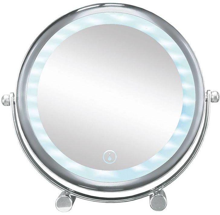 Lusterko LED Kleine Wolke Bright Shorty Silver