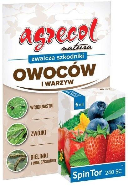 Środek ochrony roślin Agrecol Spin Tor 240SC 6 ml