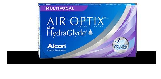 Soczewki Air Optix Plus HydraGlyde Multifocal 6szt. - MED