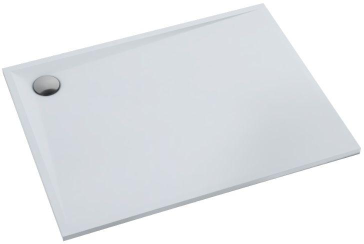 Schedpol Schedline Libra Smooth White brodzik prostokątny 140x80x3cm 3SP.L1P-80140