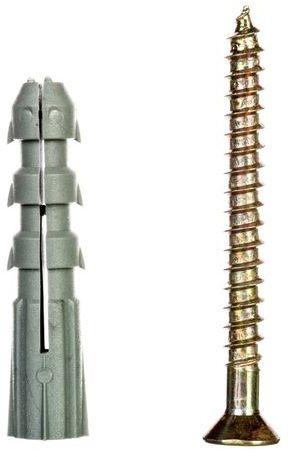 Kołek rozporowy z wkrętem KR fi10 6x60 22.013 /100 szt./