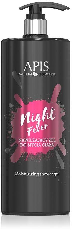 Nawilżający żel do mycia ciała Apis Night Fever 1l