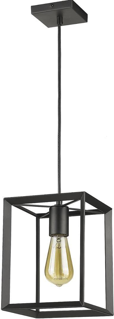 Lampa wisząca Napoli LP-4146/1P-BL Light Prestige nowoczesna oprawa w kolorze czarnym