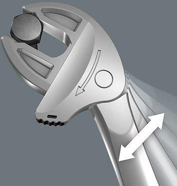 Samonastawny klucz regulowany Joker S, 154mm, rozstaw szczęk 10-13mm, serii Joker 6004, WERA [05020100001]
