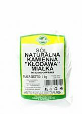 Sól kamienna naturalna MIAŁKA 1kg Smakosz