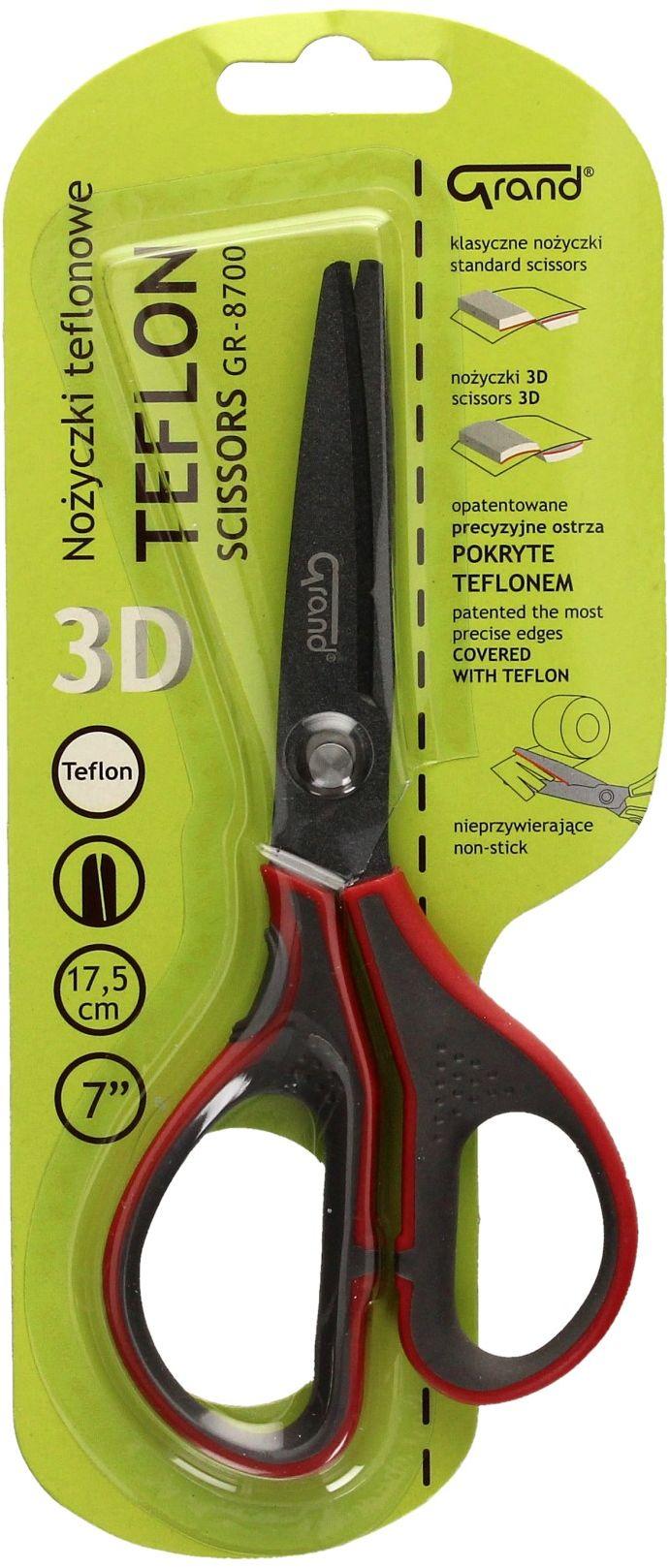 Nożyczki 17.5cm teflonowe Grand GR-8700