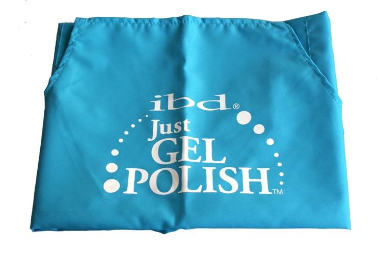 IBD Fartuszek kosmetyczny Just Gel jasnoniebieski