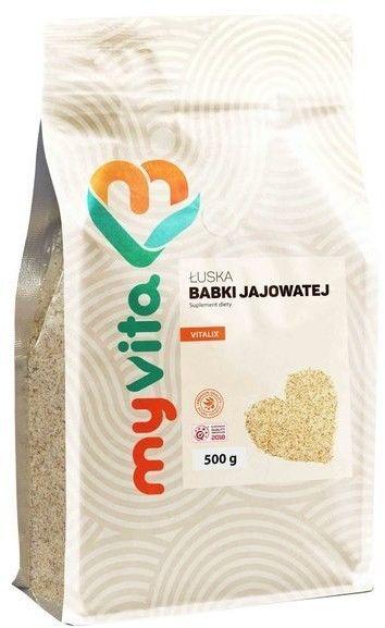 MyVita łuski babki jajowatej nasiona 500 g