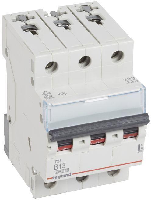 Wyłącznik nadprądowy 3P B 13A 6kA AC S303 TX3 403401
