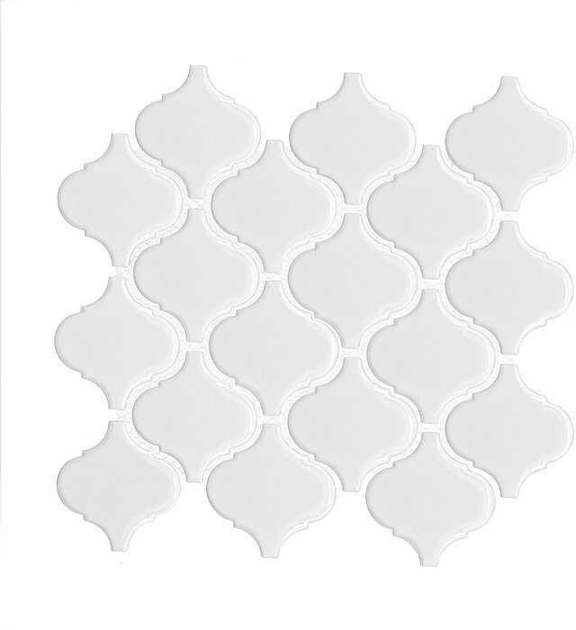 DUNIN Mini Arabesco White mozaika ceramiczna