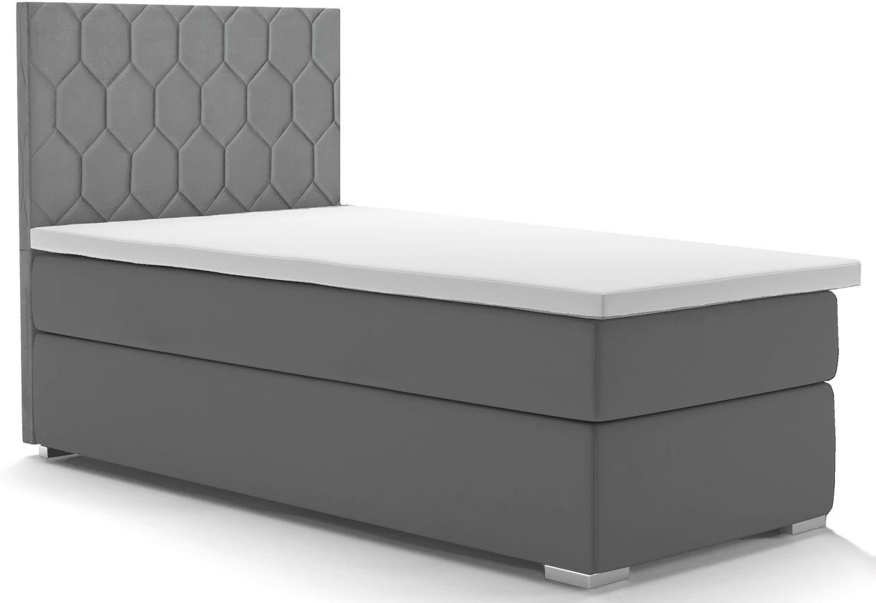 Pojedyncze łóżko kontynentalne Kallis 90x200 - 58 kolorów