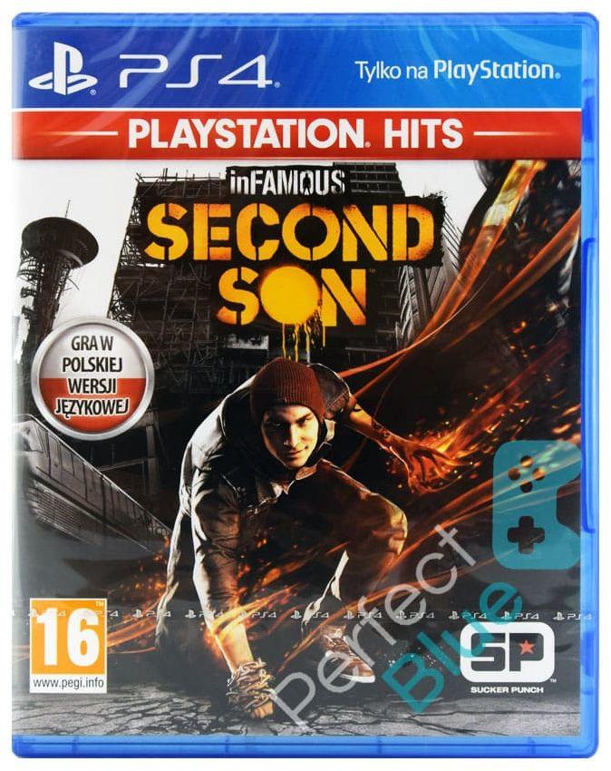 Gra PS4 Infamous Second Son Dubbing PL