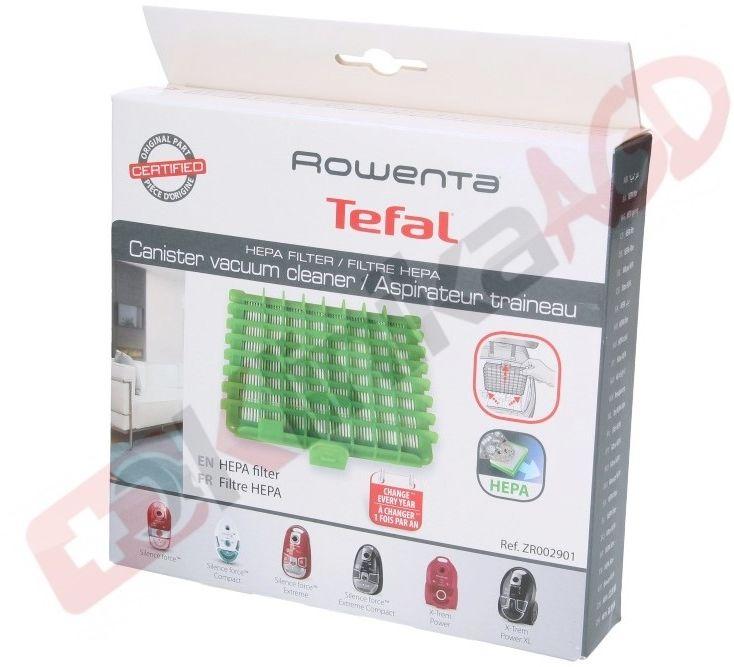 Filtr hepa ZDR002901 do odkurzacza prostokątny H13 Rowenta