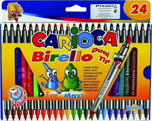 Flamastry 24 kolory CARIOCA BIRELLO - KWTR461