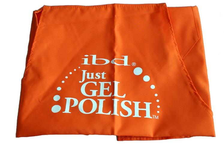 IBD Fartuszek kosmetyczny Just Gel pomarańczowy