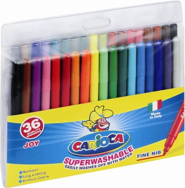 Flamastry 36 kolorów CARIOCA JOY - X00576