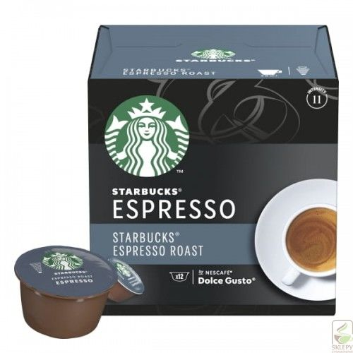 STARBUCKS Espresso Roast 12 Kapsułek Dolce Gusto