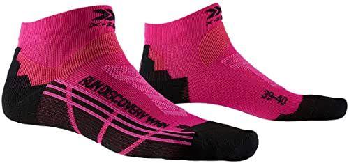 X-Socks Run Discovery skarpety damskie różowy Flamingo Pink/Opal Black 35-36