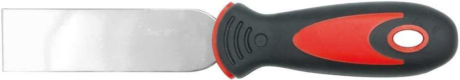 Szpachelka nierdzewna 40mm, dwukolorowy uchwyt Vorel 05912 - ZYSKAJ RABAT 30 ZŁ