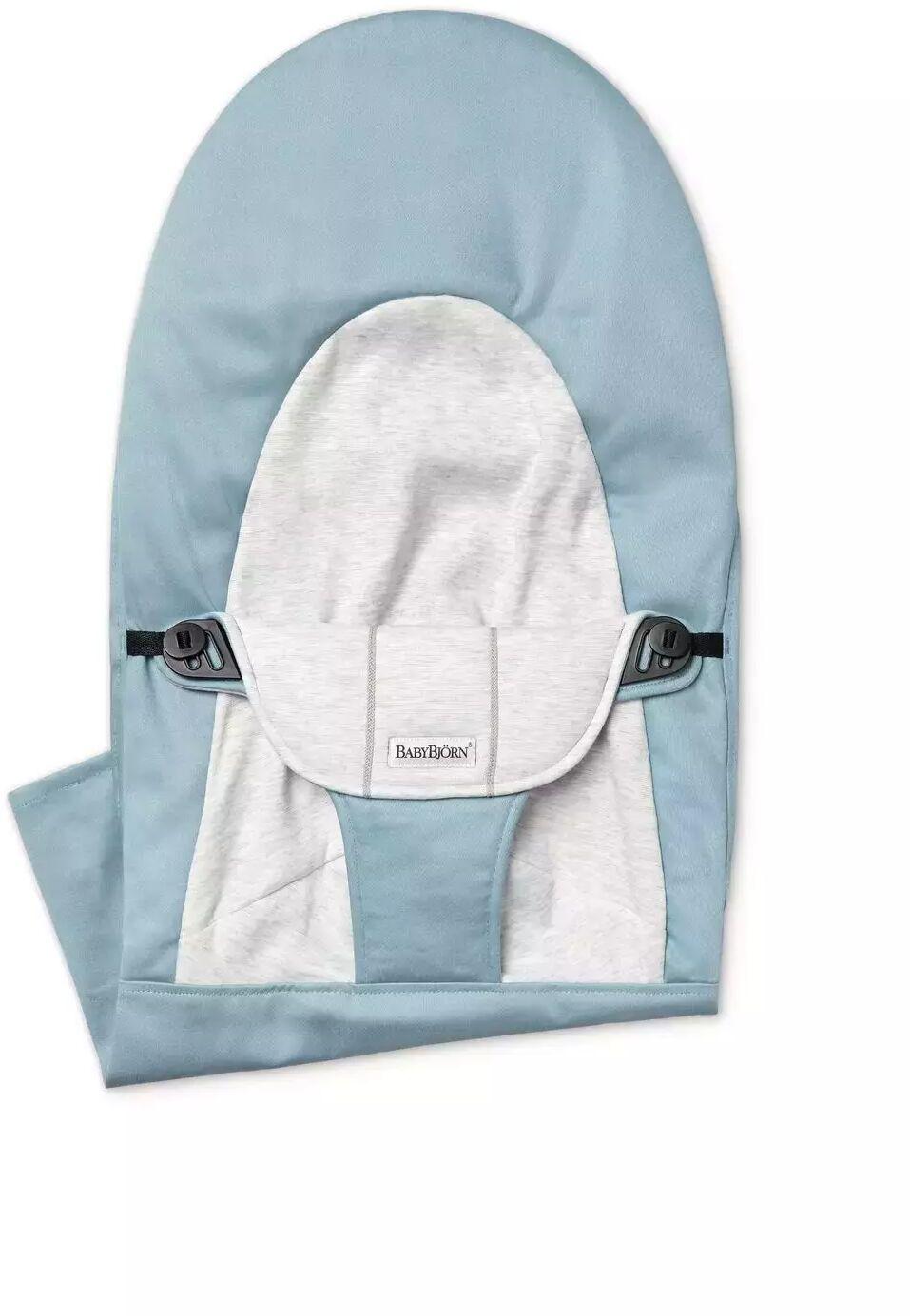 BABYBJORN - poszycie do leżaczka Balance Soft, Blue/Grey, Cotton/Jersey