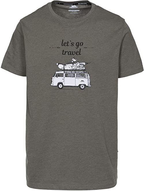 Trespass Męski t-shirt Motorway z krótkim rękawem, MMR, XXS