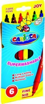 Flamastry 6 kolorów CARIOCA JOY - X00577
