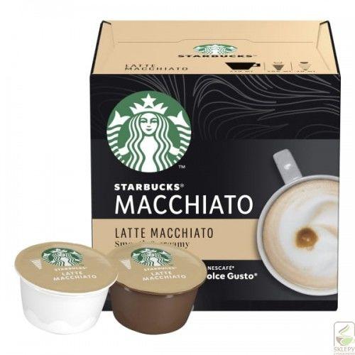 STARBUCKS Latte Macchiato 12 Kapsułek Dolce Gusto