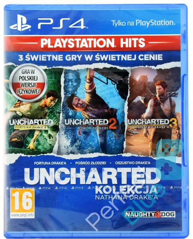 Uncharted Kolekcja Nathana Drake''a / PS4 / Warszawa